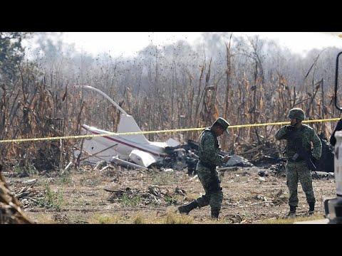Mexiko: Politiker-Ehepaar kommt bei Hubschrauberabsturz u ...