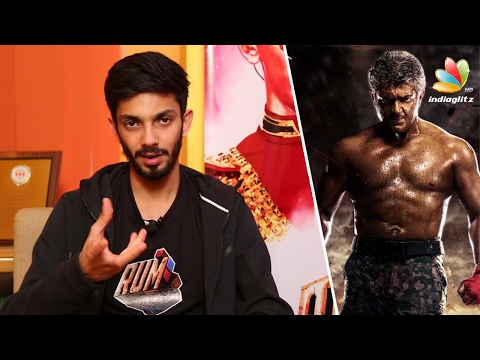 Interview : Anirudh inspires on Ajith's body transformation for Vivegam | Rum Tamil Movie