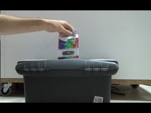 Unboxing and test of EMTEC 4GB Flash drive ECMMD4GC410 in Full 3D HD