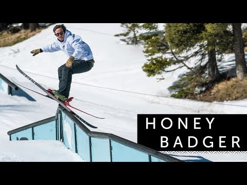 2018/2019 LINE Honey Badger Skis: Snappy, Light, Tough Park Ski For the Park and Streets