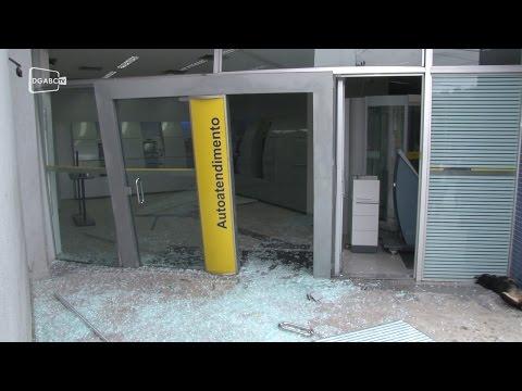 Criminosos atacam agência bancária no Jardim Zaíra