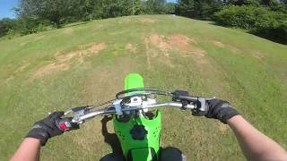 6. FIRST RIDE ON MY 2018 KLX 140 AFTER IT GOT REJETTED!!!!!!