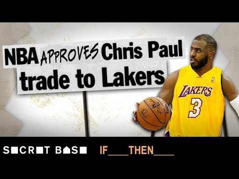 Video: If the NBA let Chris Paul get traded to the Lakers, James Harden wouldn't be a Rocket