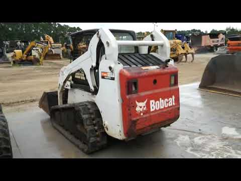 BOBCAT 多様地形対応ローダ T190 equipment video PC1x9hCGASA