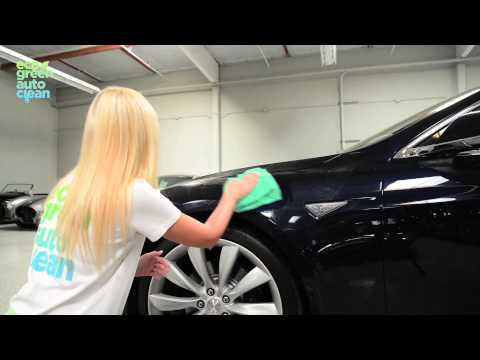 Eco Green Auto Clean - How to wash your car with less than a cup of water - Waterless Car Wash