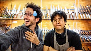 I Got Schooled by a Japanese Master Sharpener... (level up) by Alex French Guy Cooking