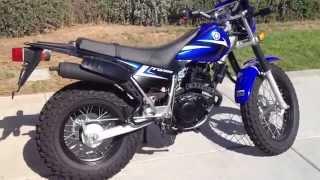 10. 2014 Yamaha TW200 Blue