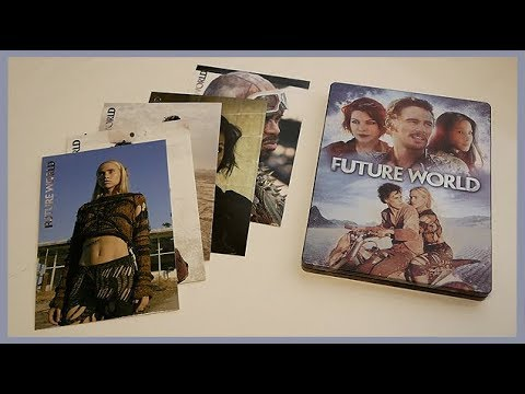 FUTURE WORLD - LIMITED BLU-RAY/DVD STEELBOOK UNBOXING - SATURN/MEDIA MARKT EXCLUSIVE