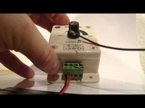 How To Install A Dimmer For LED Strip Lighting