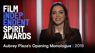 Nonton Aubrey Plaza's Opening Monologue at the 2019 Film Independent Spirit Awards Film Subtitle Indonesia Streaming Movie Download