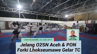Jelang O2SN Aceh dan PON 2020, Forki Lhokseumawe Gelar Pemusatan Latihan