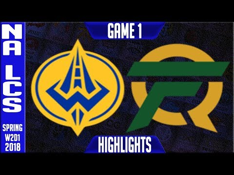 GGS vs FLY Highlights | NALCS Spring 2018 S8 W2D1 | Golden Guardians vs FlyQuest Highllights