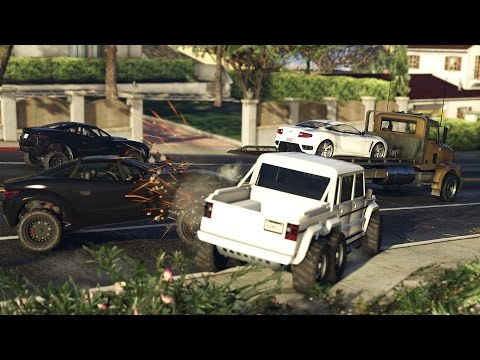 Grand Theft Auto Online Freemode Events Trailer