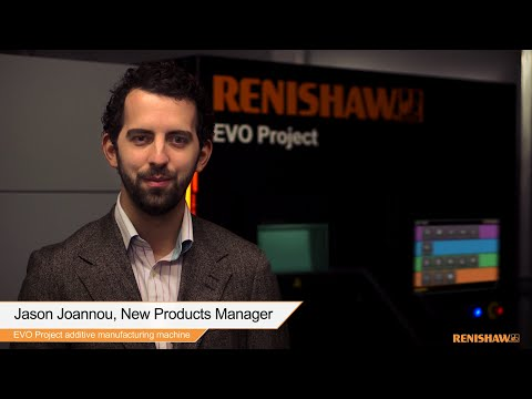 Metal additive manufacturing (3D printing) for industry - RenAM 500M (EVO Project)