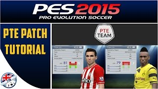 [TTB] PES 2015 - How To Install A PC Patch - PTE Patch Tutorial