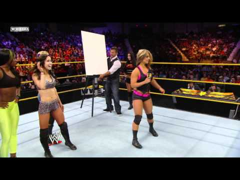 WWE NXT: NXT Rookie Diva Challenge: Talent Show