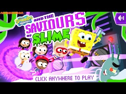 SpongeBob Squarepants and the Saviours of Slime [Nickelodeon Games]