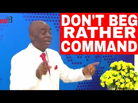 COMMANDING THE SUPERNATURAL - BISHOP DAVID OYEDEPO