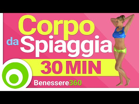 un corpo da spiaggia in 30 minuti - fitness ad alta intensità