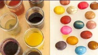 Naturalne barwniki do pisanek