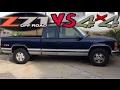 Z71 vs Regular 4x4 Truck - Which is Better?
