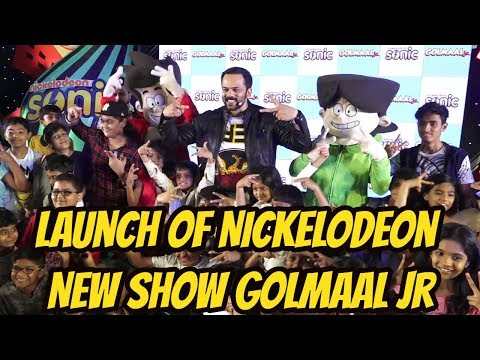 Rohit Shetty At Launch Of Nickelodeon New Show Golmaal Jr