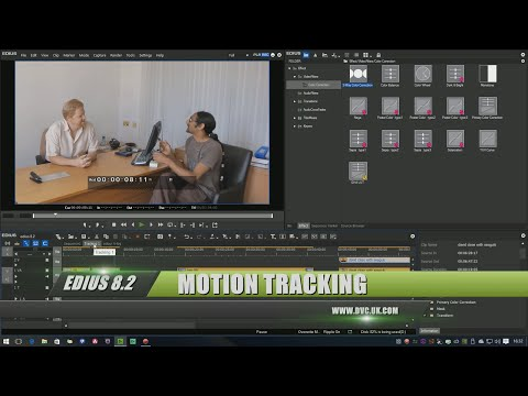 EDIUS 8.2 part 2: Motion tracking in the mask filter