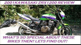 6. 2001 KAWASAKI ZRX1200R REVIEW AND THOUGHTS