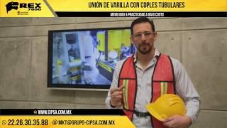 REX Unión de Varillas en FRIO