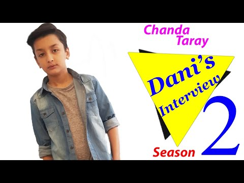 CHANDA TARAY SEASON 2 ||EPISODE 6 DANI INTERVIEW BY CVTZ And Family Ghum Bhula K