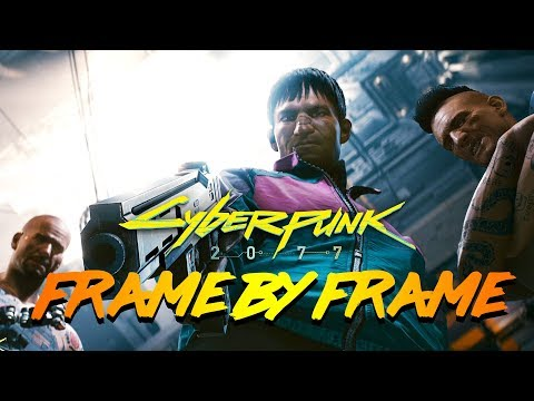 Cyberpunk 2077 - Frame By Frame Series Episodes 7 - 10 In-Depth ANALYSIS