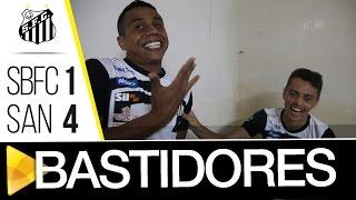 ESSE É O ESPÍRITO! O Peixe fez um grande jogo e venceu o São Bernardo por 4 a 1, fora de casa! Confira tudo o que rolou antes, durante e depois da partida!