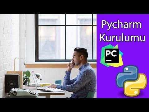 """Python Dersleri 2018 - Ders 7: Pycharm Kurulumu, İlk Uygulama """"Merhaba Dünya"""""""