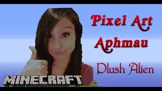 Minecraft Pixel Art SpeedBuild | Aphmau