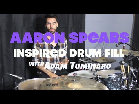 Aaron Spears Style Gospel Lick Drum Lesson