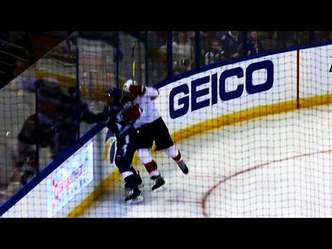 Video: Namestnikov takes brutal hit from behind, Sustr left bloody after fight