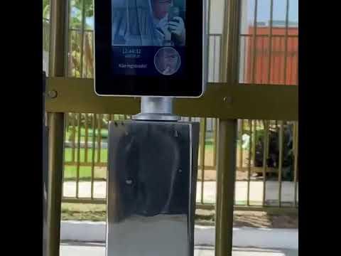 Automação para abertura de portão de condomínio com leitura da face do motorista