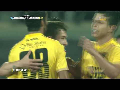 Al Wasl (4) x Hatta (1) AG League 22-12-2016~ Goals