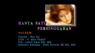 Download lagu Saleem Hanya Satu Persinggahan Mp3