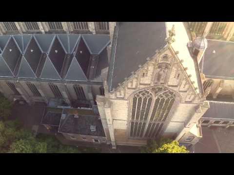 Werkopnamen Drone Grote Kerk