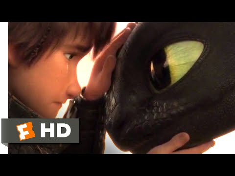 How to Train Your Dragon 3 - Goodbye, Toothless | Fandango Family