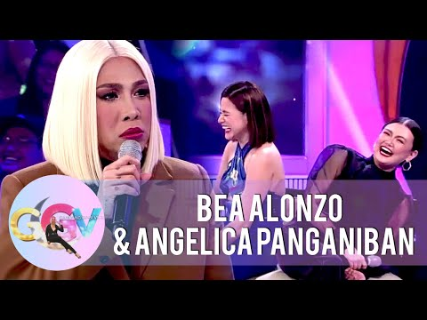 Vice Ganda gets annoyed with Bea and Angelica | GGV