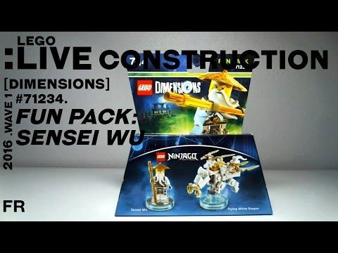 Vidéo LEGO Dimensions 71234 : Pack Héros : Sensei Wu