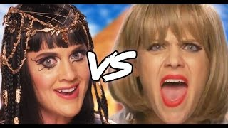 KATY PERRY vs. TAYLOR SWIFT – NEW SHOW by Clevver Style