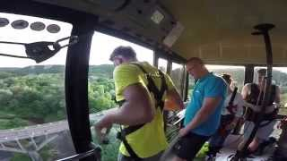 Video Bungee Jump Accident   Cord Snaps   View from Cable Car MP3, 3GP, MP4, WEBM, AVI, FLV Oktober 2017