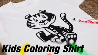 In this video Lisa shows us how to use Siser Black EasyWeed and clipart from Kids Live Templates and Clipart Mega Pack to create a coloring shirt. Use washable markers to color in the tiger, then wash to start again!Siser Black EasyWeed - http://therhinestoneworld.com/Siser-EasyWeed-Heat-Transfer-Vinyl?color=8Kids Live Template Pack - http://therhinestoneworld.com/Kids-Live-Templates-and-Clipart-Mega-Pack-Vol-1For supplies, education, and much more, visit our site:http://www.therhinestoneworld.com/Like our Facebook for the latest updates on us:https://www.facebook.com/therhinestoneworldGive us a call at 941-755-1696 or email to info@therhinestoneworld.comWe look forward to helping you soon!