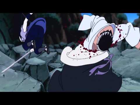 scontro completo tra sasuke uchiha vs danzo shimura