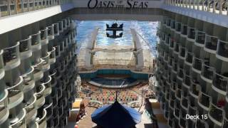 Video Tour of Royal Caribbean's Cruise Ship OASIS of The Seas Feb  2017 HD MP3, 3GP, MP4, WEBM, AVI, FLV September 2019