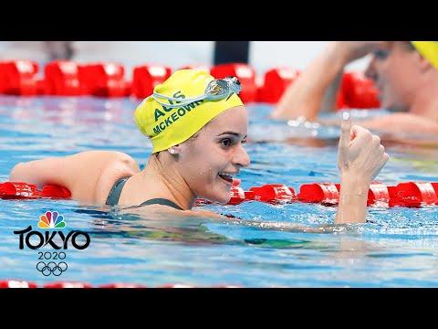 Kaylee McKeown bests Regan Smith for 100m backstroke gold | Tokyo Olympics | NBC Sports
