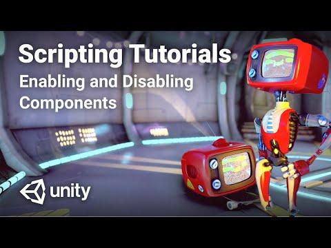 C# Enabling and Disabling Components in Unity! - Beginner Scripting Tutorial